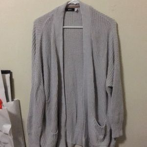Grey BDG Oversized Cardigan (XS)